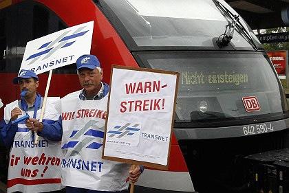Streik bei Deutscher Bahn