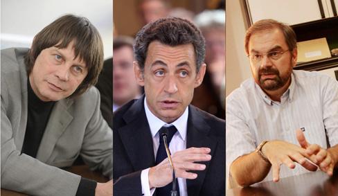 Sarkozy-Chereque-Thibault
