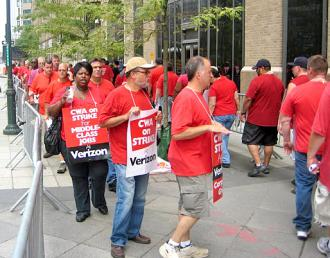 Verizon picket-Lamphere