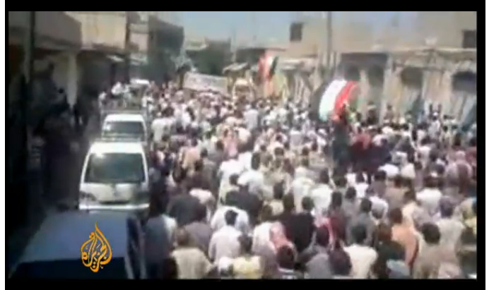 syrie 6foule