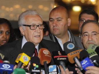 24 décembre 2012: Lakhdar Brahimi,un accord entre toutes les parties?
