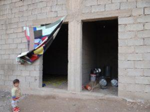 Hôpital de fortune à Deir Ezzor (Médecins sans frontières)