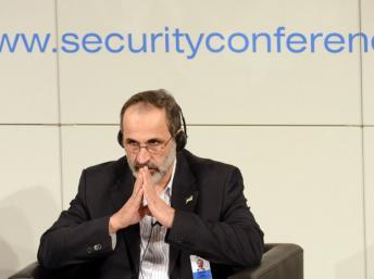Moazz al-Kathib, président de la Coalition nationale syrienne