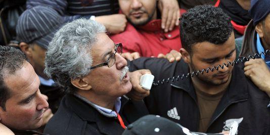 Hamma Hammami, secrétaire général du Parti des travailleurs tunisiens