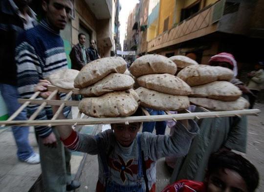 A l'époque (2088) où une «révolte du pain» a éclaté...
