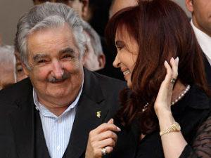 Mujica avec Cristina Kirschner (Argentine)