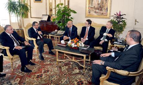 Rencontre de la délégation du FMI avec le gouvernement égyptien
