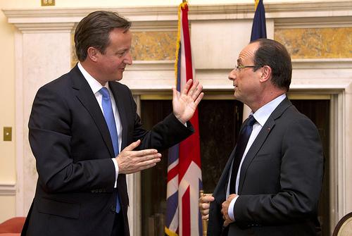 David Cameron et François Hollande. «Aux armes!»