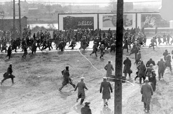 Ford Hunger March: attaquée par la police en 1932