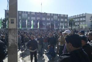 Mobilisation de la population à Barbacha