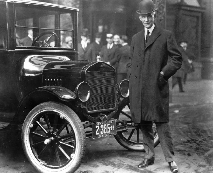 Henry Ford et la «Ford T»