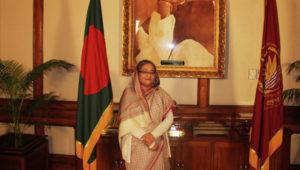 Skeihk Hasina qui cultive des relations avec Poutine pour des achats d'armement