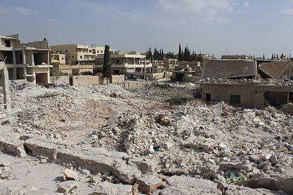 A-missile-leveled-two-homes-in-Hreitan-Aleppo-Province-MO1
