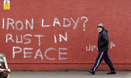 A wall in West Belfast