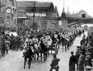 Janvier 1923: les Français occupent la Ruhr