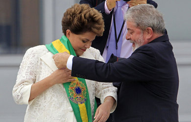 Dilma et Lula: passage de témoin...