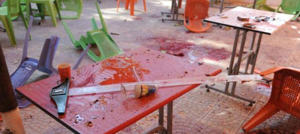28 mars 2013: Université de Damas, école d'architecture, bombardée.