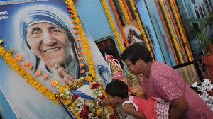 Mère Teresa...vénérée