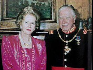 Thatcher et Pinochet... en «grande tenue»