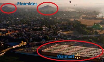 Walmart proche des pyramides de Teotihuacan