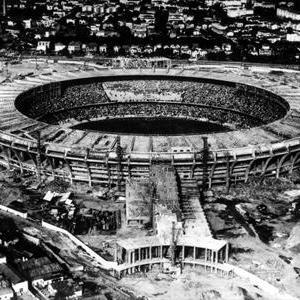 Le stade historique de Maracana