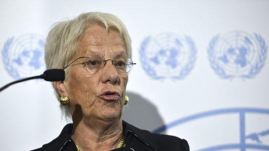 Carla del Ponte: «elle sait» qui a utilisé  le gaz sarin: les «rebelles»!!