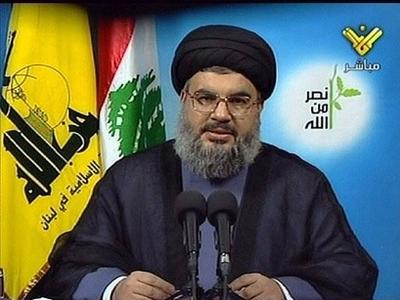 Hassan Nasrallah, le Guide du Hezbollah,  le Parti de Dieu