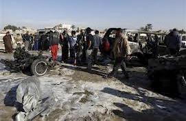Explosion en janvier 2013, dans un quartier «chiite»     de Choula, nord-ouest de Bagdad