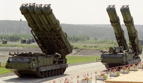 Des missiles S-300 (Photo Ria-Novosti)
