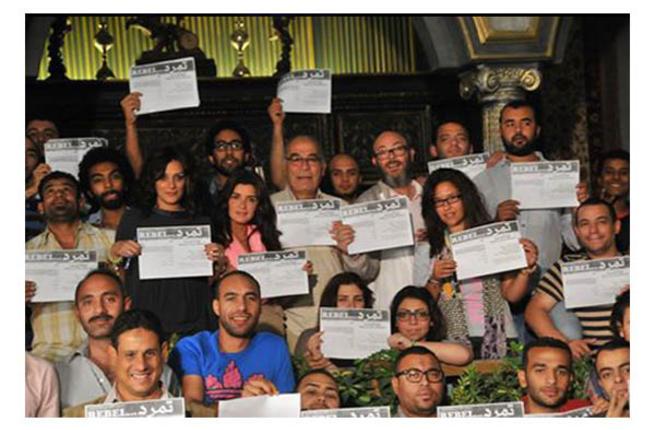 La campagne «Tamarud» pour que Morsi dégage.  Le but, 15 millions de signatures.