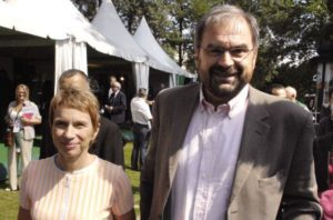 Laurence Parisot et le «syndicaliste» François Chérèque lors de l'Uni   d'été du MEDEF en 2007