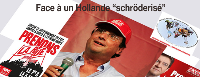 France. Face à un Hollande «schröderisé», «que faire»?