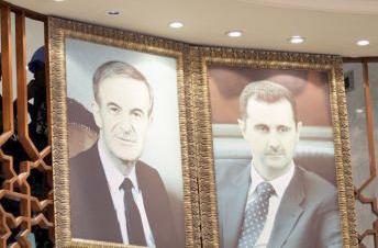 Hafez el-Assad et Bachar el-Assad