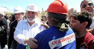 Lula soutient la firme transnationale Odebrecht...et ses travailleurs