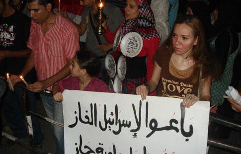 Manifestations dans diverses villes, le 27 mai 2013, sur le thème: «Le régime continue à fournir à Israël du gaz à un prix dérisoire et en prive les Egyptiens»
