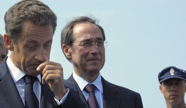 France's President Sarkozy attends the inauguration of a Gendarmerie in La Londe-les-Maures