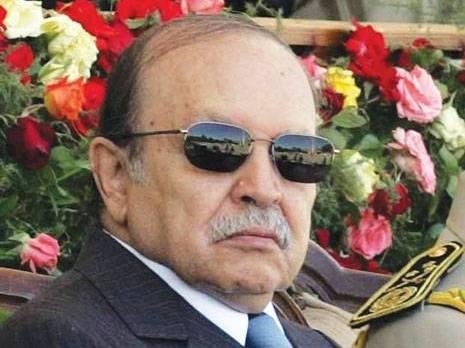 Abdelazis Bouteflika en avril 2013