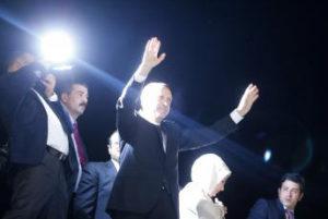 Recep Tayyip Erdogan à son arrivée le 7 juin à l'aéroport d'Istanbul