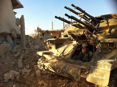 Le Hezbollah et l'armée d'Assad attaquent Qousseir et tuent  sa population