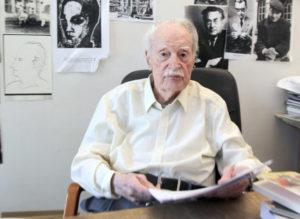 Maurice Nadeau, en 2011, l'année de ses cents ans (Pierre Very-AFP)