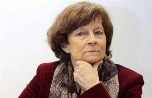 Yannick Moreau, présidente de la Commission pour l'avenir des retraites