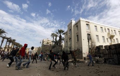 Attaque du «bâtiment officiel» à Alexandrie en janvier; cela s'amplifie