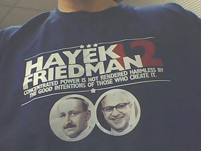 hayek+FRIEDMAN