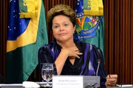 Dilma Rousseff le 24 juin 2013