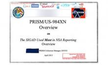 Document présentant le programme est «Prism»