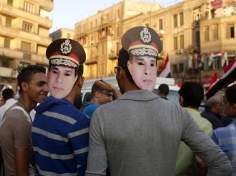 Des «pro-Sissi», le 26 juillet au Caire