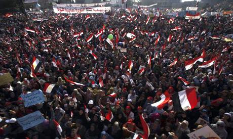 Sur la place Tahrir, le 7 juillet au soir