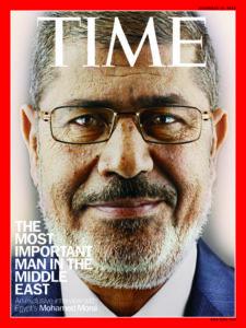 10 décembre 2012: Morsi fait la une du Time