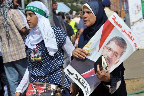 Départ pour la manifestation pro-Morsi du 26 juillet 2013
