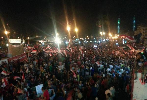 Damiette en manifestation ce soir
